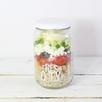 Greek Salad, jar