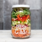 Organic Sunshine Salad, jar