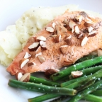 Organic Trout with Herb-Mashed Potatoes & Greens