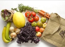 <p>Organically grown veg and fruit with local focus</p>