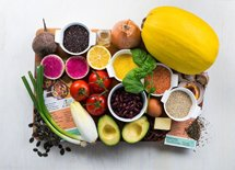 <p>Fresh ingredients and new healthy recipes each week</p>