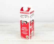 Nature's Whole Non-homogenized Milk carton