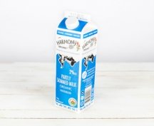 2% Partly Skimmed Milk carton