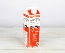 Whole Milk carton