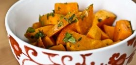 Sweet Potato Salad with Mustard Vinaigrette