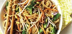 Veggie Chow Mania with Chicken & Soba Noodles
