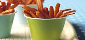 Recipe of the Week: Carrot Fries with Dilly Dip