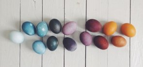 Easter Eggs Using Natural Dye from Food!