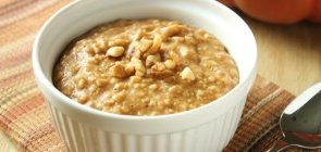 Quick Pumpkin Oatmeal