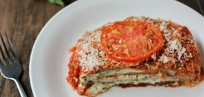 Eggplant Lasagna with Ricotta and Cashew Cheese