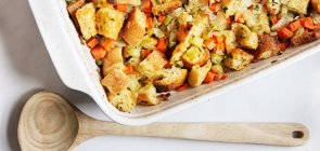 Homemade Bread Stuffing
