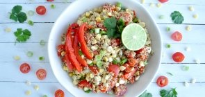 Mexican Street Corn Bowl with Avocado & Pico de Gallo