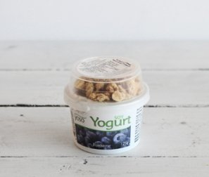 Yogurt, Soy Blueberry & Granola