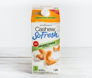 Unsweetened Fresh Cashew Milk Carton