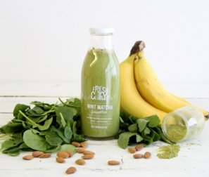 Mint Matcha Smoothie, 475 mL