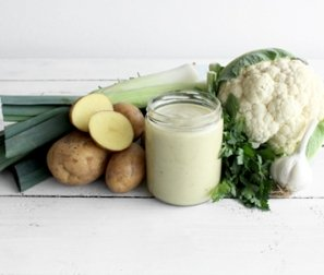 Potato & Leek Soup, jar