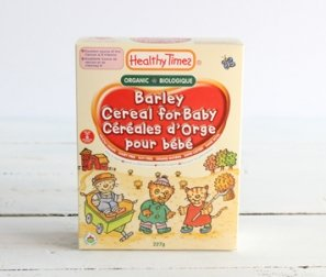 Baby Cereal, Barley