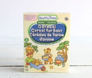 Baby Cereal, Oatmeal