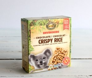 Crispy Rice Bar, Koala Chocolate
