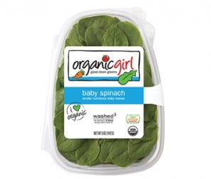 Organic Spinach, Baby