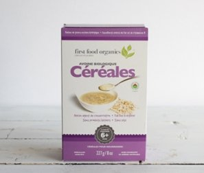 Infant Cereal, Oatmeal