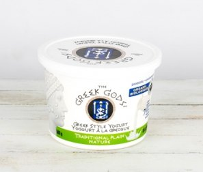 Yogurt, 8% Plain Greek (Greek Gods )