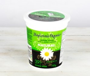 Yogurt, 3.9% Natural (Mapleton's)