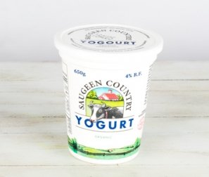 Yogurt, 4% Plain (Saugeen)