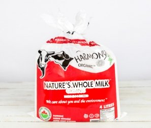 Milk, Nature's Non-Homogenized Bags