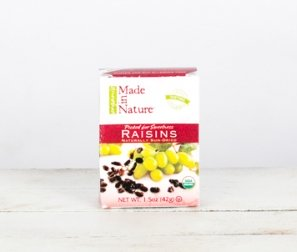 Dried Raisins Snack Pack