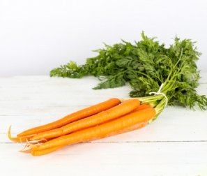 Organic Carrots, Orange Bunched
