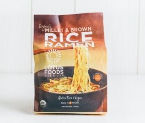 Millet & Brown Rice Ramen, 4 pack