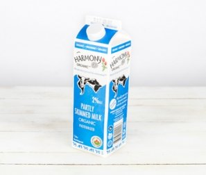 Milk, 2% Partly Skimmed Carton