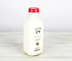 Milk, Whole Homogenized Glass Bottle
