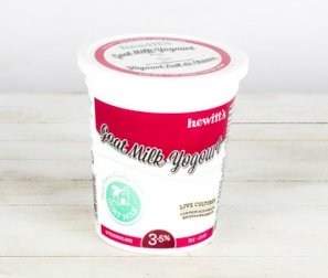 Yogurt, Goat Milk 3.5% Plain (Hewitt's)