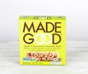 Apple Cinnamon Organic Granola Bars