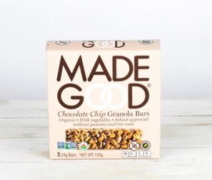 Chocolate Chip Organic Granola Bars