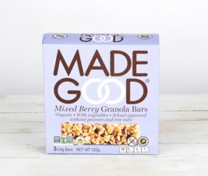 Mixed Berry Organic Granola Bars
