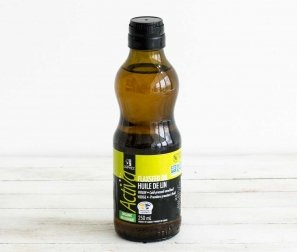 Cold-Pressed, Unrefined Flaxseed Oil
