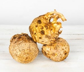 Celery Root (Celeriac), 1 or 2 bulbs