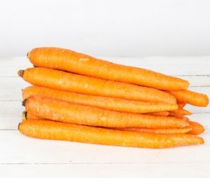 Organic Carrots, Orange (2lb bag)