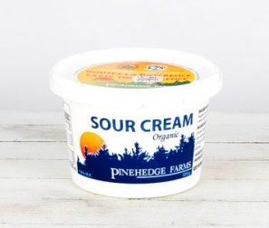 Sour Cream, (Pinehedge) Plastic Tub