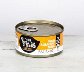 Canned Albacore Tuna, Solid White