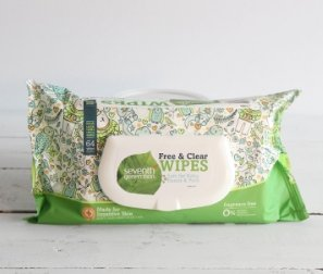 Baby Wipes, Free and Clear with Flip Top