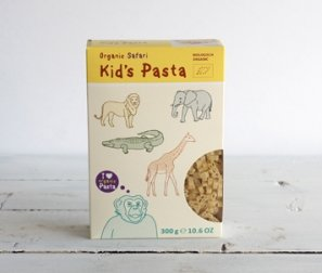Pasta, Kids' Safari Shapes
