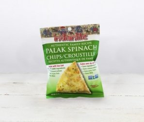 Palak, Spinach Chips, single serving