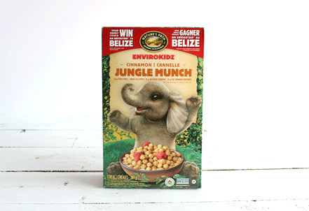 Cereal, Cinnamon Jungle Munch