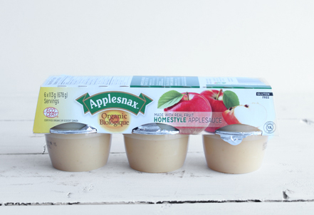 Applesauce Cups, Homestyle
