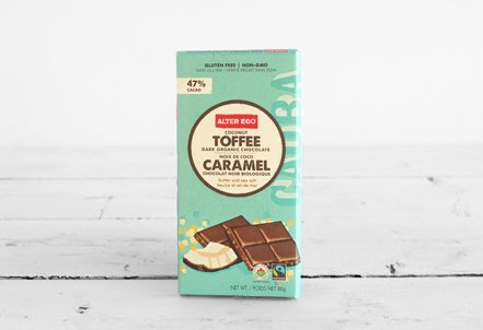Chocolate Bar, Coconut Toffee 47%