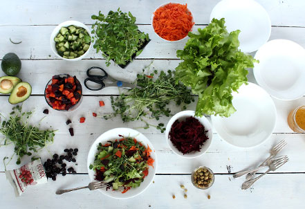 Harvest-Your-Own Salad Party!